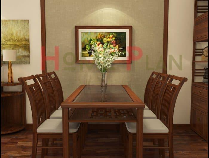bàn ăn gỗ việt - grand bois