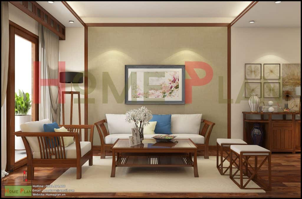 sofa gỗ việt