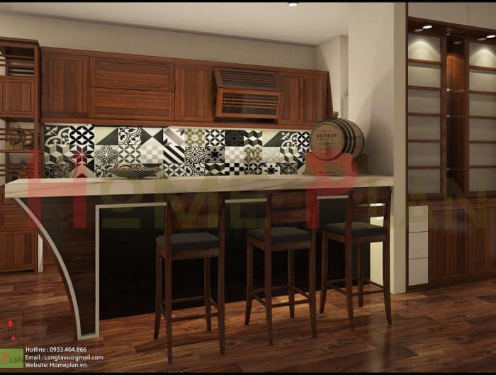 tủ bếp gỗ việt