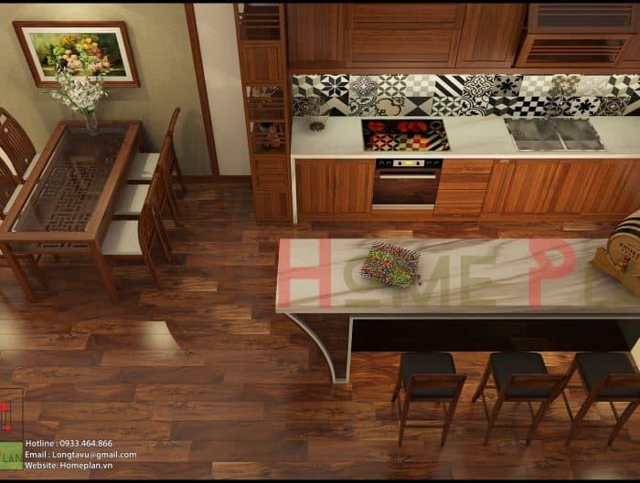tủ bếp gỗ việt - grand bois