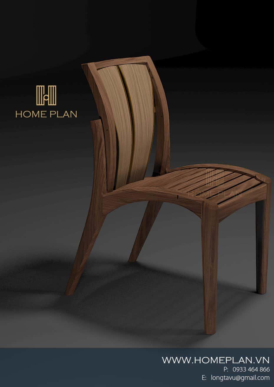 Ghế bàn ăn bằng gỗ đẹp