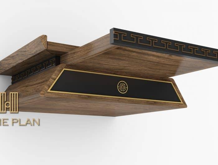 bàn thờ hiện đại cho chung cư
