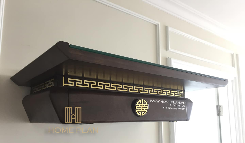 bàn thờ treo tường hiện đại